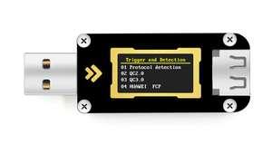 USB тестер FNIRSI FNB28 ($8)