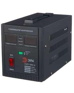 Стабилизатор напряжения однофазный ЭРА СНПТ-1000-Ц