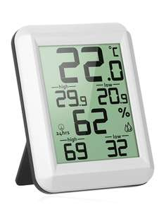 Электронный термометр / гигрометр за $4.49