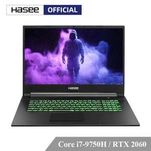 Игровой ноутбук Hasee G8-CT7NA с rtx 2060
