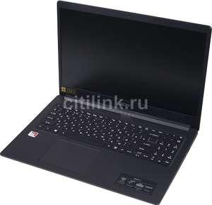 """Офисный Ноутбук ACER Aspire A315-22-686C, 15.6"""",1920x1080, AMD A6 9220e 1.6ГГц(2.4 ГГц Turbo),4 Гб,128 SSD, AMD Radeon R4, Linux"""