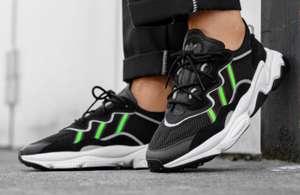 Adidas Ozweego Core Black Solar Green