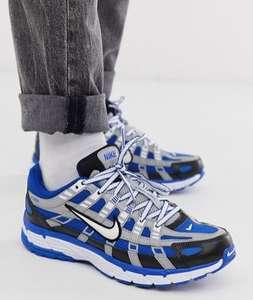 Синие кроссовки Nike P-6000