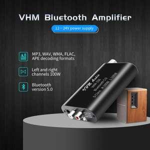 Усилитель мощности для дома (2x100 W) за $10 с Bluetooth