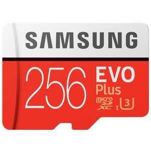 Карта памяти Samsung EVO Plus 256 Гб за 45$