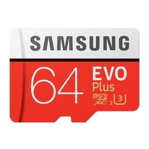 Samsung EVO Ultra Micro SDXC UHS-3 64GB за 14.63$