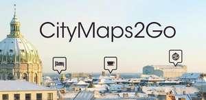 Бесплатно: City Maps 2Go Pro или Premium Офлайн карты (Android)
