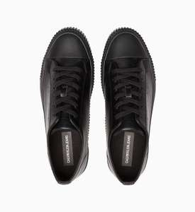 Кроссовки Calvin Klein черные и белые