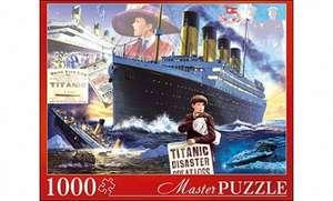 "Пазлы ""Masterpuzzle. Титаник"", 1000 элементов"