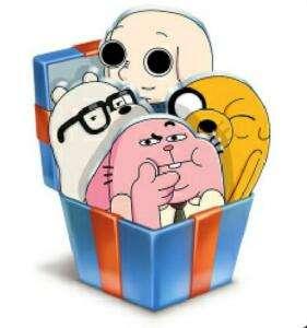 Стикеры Cartoon Network бесплатно