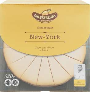 [МО,Белоозерский] Чизкейк Cheeseberry New-York 520 г