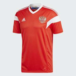 Adidas Домашняя игровая футболка Сборной России
