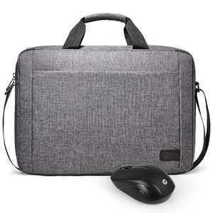 Сумка HP под 15.6' ноутбук + мышка HP за $18.9