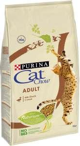 """Корм сухой Cat Chow """"Adult"""" для взрослых кошек, с уткой, 15 кг"""
