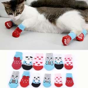 Домашние носки/варежки для собак, щенков, кошек