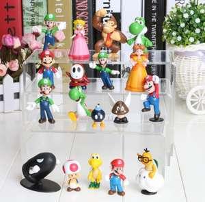 Фигурки Super Mario Bros (18 шт.) за $9.9