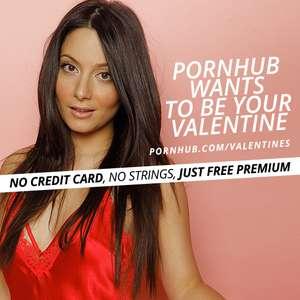 Pornhub Premium на День святого Валентина БЕСПЛАТНО