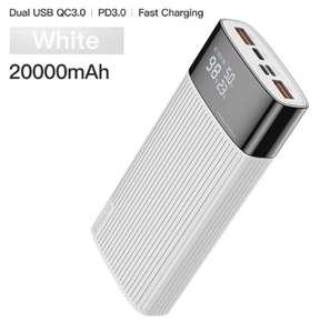 Powerbank Kuulaa 20.000 mah (QC 3.0/PD 3.0)