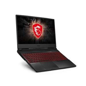 "Ноутбук MSI GL65 9SDK-083XRU 15,6"" IPS 120Гц / i5-9300H / 8Gb / SSD 512Gb / no ODD / GTX1660Ti 6Gb / DOS / Черный (GL65 9SDK-083XRU)"
