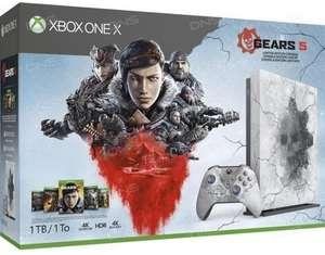 [не все города] Игровая приставка Microsoft Xbox ONE X Gears 5 Edition 1 Tb + 5 игр