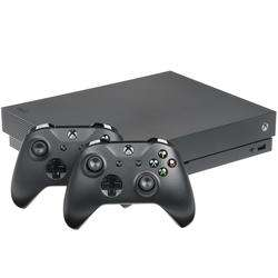 Игровая приставка Microsoft Xbox ONE X Black 1 TB