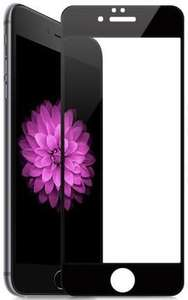Защитное стекло Red Line для Apple iPhone 6/6s Plus Black — Билайн