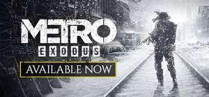 [PC/Steam] Скидки на серию игр Metro 2033 (Например Metro Exodus)