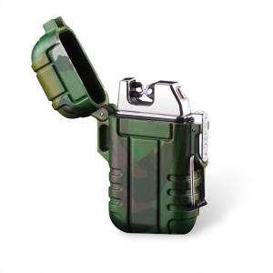 Двухдуговая плазменная зажигалка  KCASA KC-MT15 USB