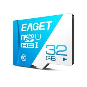 Micro SD карта EAGET T1 Class 10 80MB/s 32GB