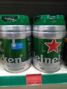 [Екб] Heineken в кеге на 5л по акции в сети супермаркетов Яблоко