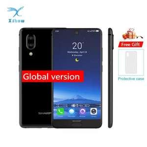 """Компактный смартфон Sharp c10 (snap 630 , nfc , 5.5"""" FullHD , 4/64)"""