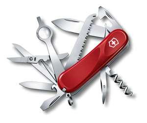Нож VICTORINOX Evolution 23, 85 мм, 17 функций, красный (2.5013.E)
