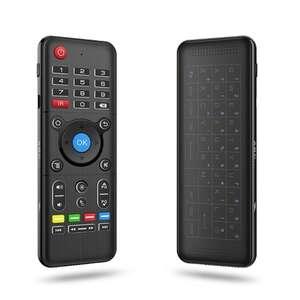 Комбайн Air Mouse + Full-Touchpad клавиатура пульт ДУ 2.4GHz за 12.79$