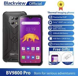 Blackview BV9800 Pro (с термо-камерой)