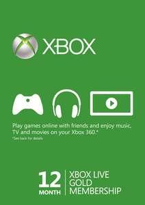 Xbox Live Gold Membership на 12 месяцев (VPN Бразилии)