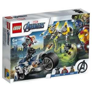 Конструктор LEGO Marvel Super Heroes 76142 Мстители: Атака на спортбайке
