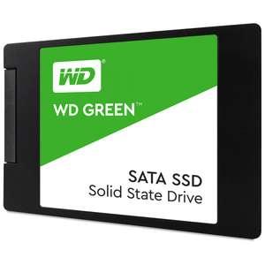 """SSD жесткий диск WD GREEN SATA 2.5"""" 240GB TLC WDS240G2G0A"""
