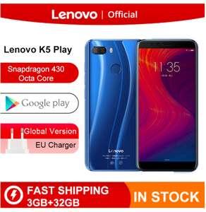 lenovo K5 Play, 3/32Gb, Snapdragon 430