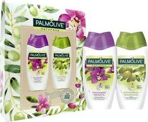 Три товара по цене двух, напр. Подарочный набор Palmolive Натурэль Гель для душа Роскошная мягкость