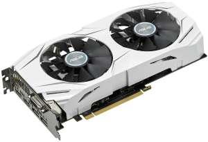 Видеокарта ASUS Dual GeForce GTX 1070 OC 8GB, DUAL-GTX1070-O8G