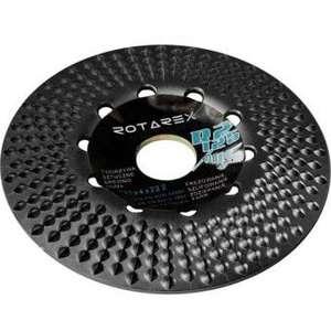Безопасный и долговечный диск по дереву для ушм rotarex r2 plus+