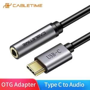 Кабель USB Type-C - Audio Jack 3.5MM