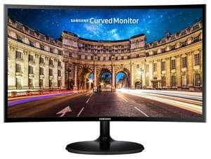 Изогнутый монитор Samsung C24F390FHI с VA-матрицей