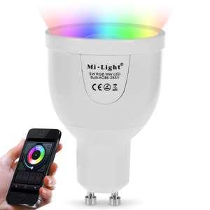 Умная лампочка MiLight (WiFi LED) за $8.99