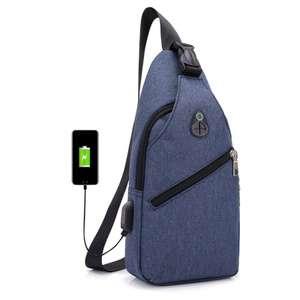 Сумка HUWAIJIANFENG с USB выходом за $5.22