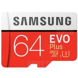 Samsung UHS-3 64GB за 12.99$