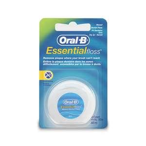 Зубная нить ORAL-B Essential вощеная