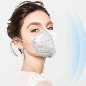 Защитные трёхслойные маски N95 (10шт)