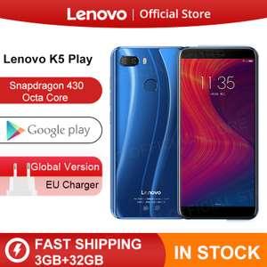 Lenovo K5 Play, 3 ГБ, 32 ГБ, Snapdragon 430 (Глобальная версия)