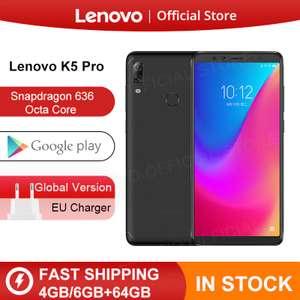 Смартфон Lenovo K5 Pro Snapdragon 636, 4/64 ГБ, Глобальная версия (6565₽ с купоном)